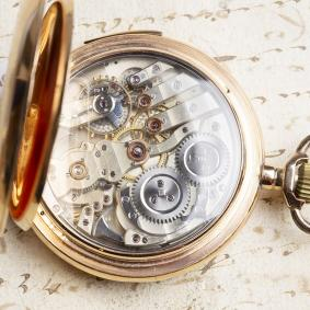 Hi Grade MINUTE REPEATER Gold Repeating Pocket Watch