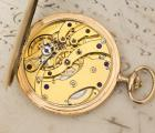 AUGUST ERICSSON- ULYSSE NARDIN Imperial RUSSIAN MARKET GOLD Antique Pocket Watch