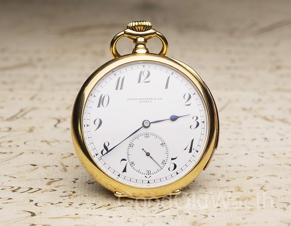PATEK PHILIPPE REPEATER Gold Antique REPEATING Pocket Watch