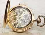 Le Phare MINUTE REPEATER CHRONOGRAPH Gold Antique Pocket Watch