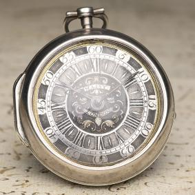 Henry-Massy---1710s-Pair-Cased-Verge-Fusee-British-Antique-Pocket-Watch