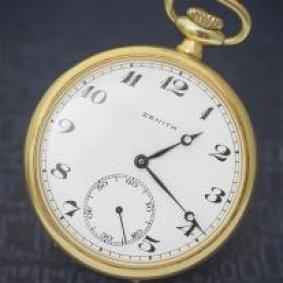 Excellent Vintage Gold Filled ZENITH Gents Pocket Watch