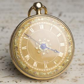 18k-GOLD-REPEATER-Verge-Fusee-Antique-Repeating-Pocket-Watch