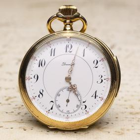 QUARTER REPEATER - Antique Solid Gold REPEATING Pocket Watch from 1910s