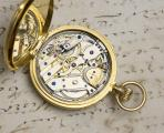 LOUIS AUDEMARS - High Grade REPEATER Solid Gold Antique REPEATING Pocket Watch from 1860