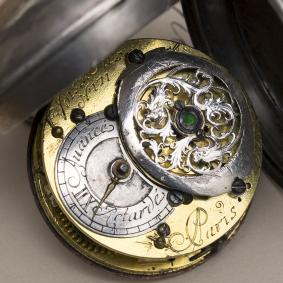 1730s Antique Verge Fusee Pocket Watch - Voisin Fils Paris